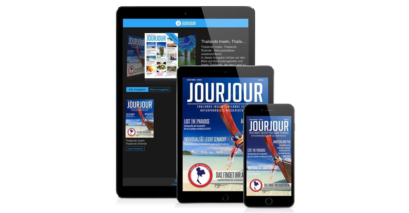 Die JOURJOUR App ist da!